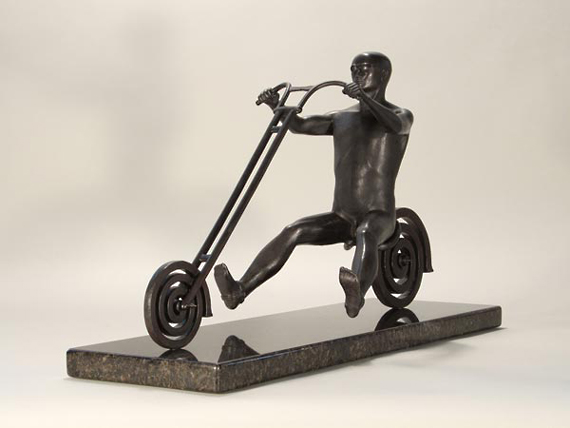 Endless Highway (1/4 Scale) - Bronze Sculpture